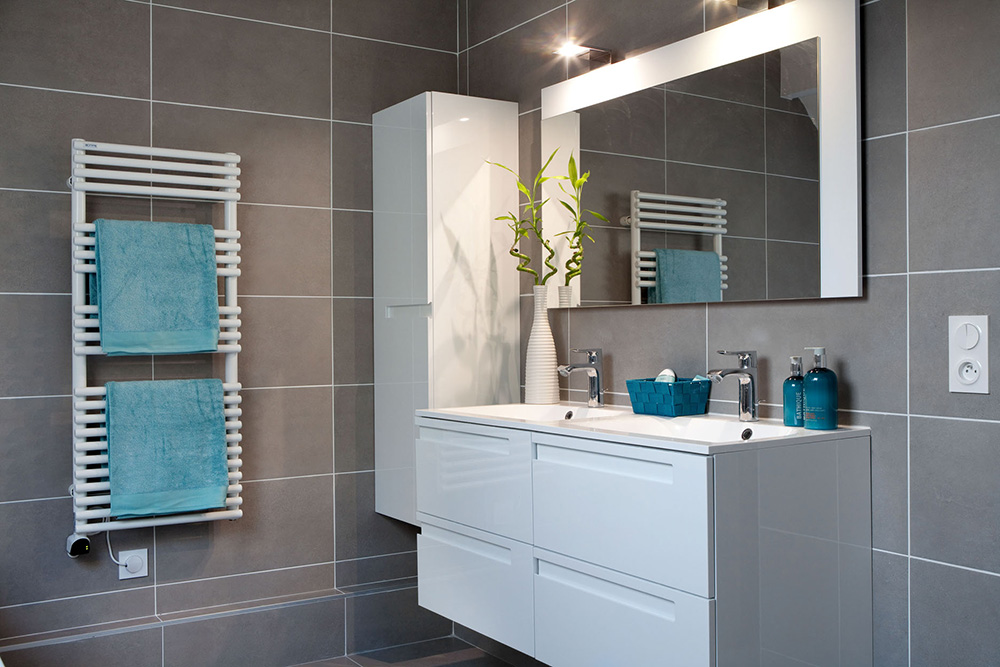 Conception de salles de bains christiansen design for Lle de bain