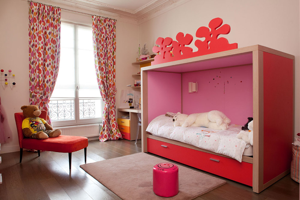 Chambre dadolescent fille design for Chambre fille design