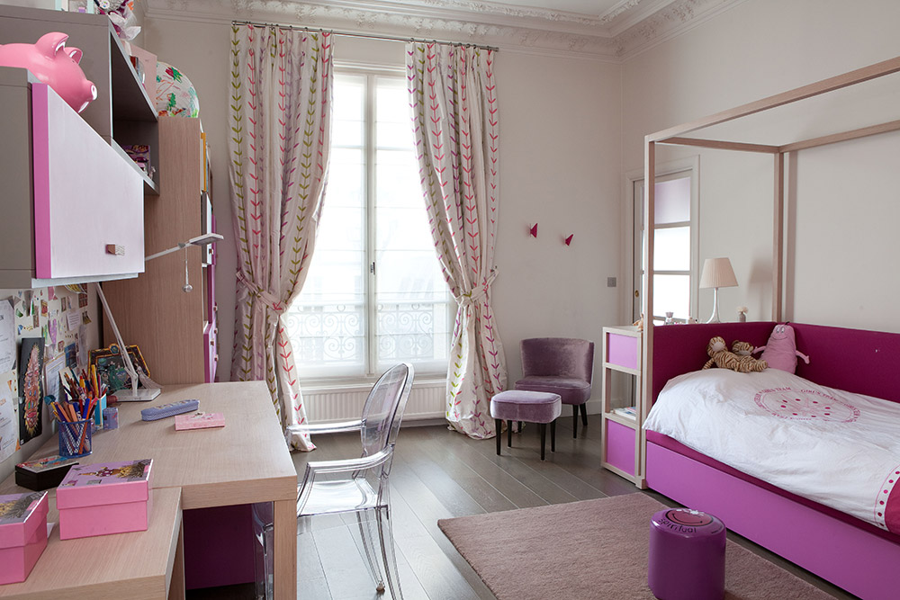 Appartement haussmannien paris jardin luxembourg for Jardin interieur appartement