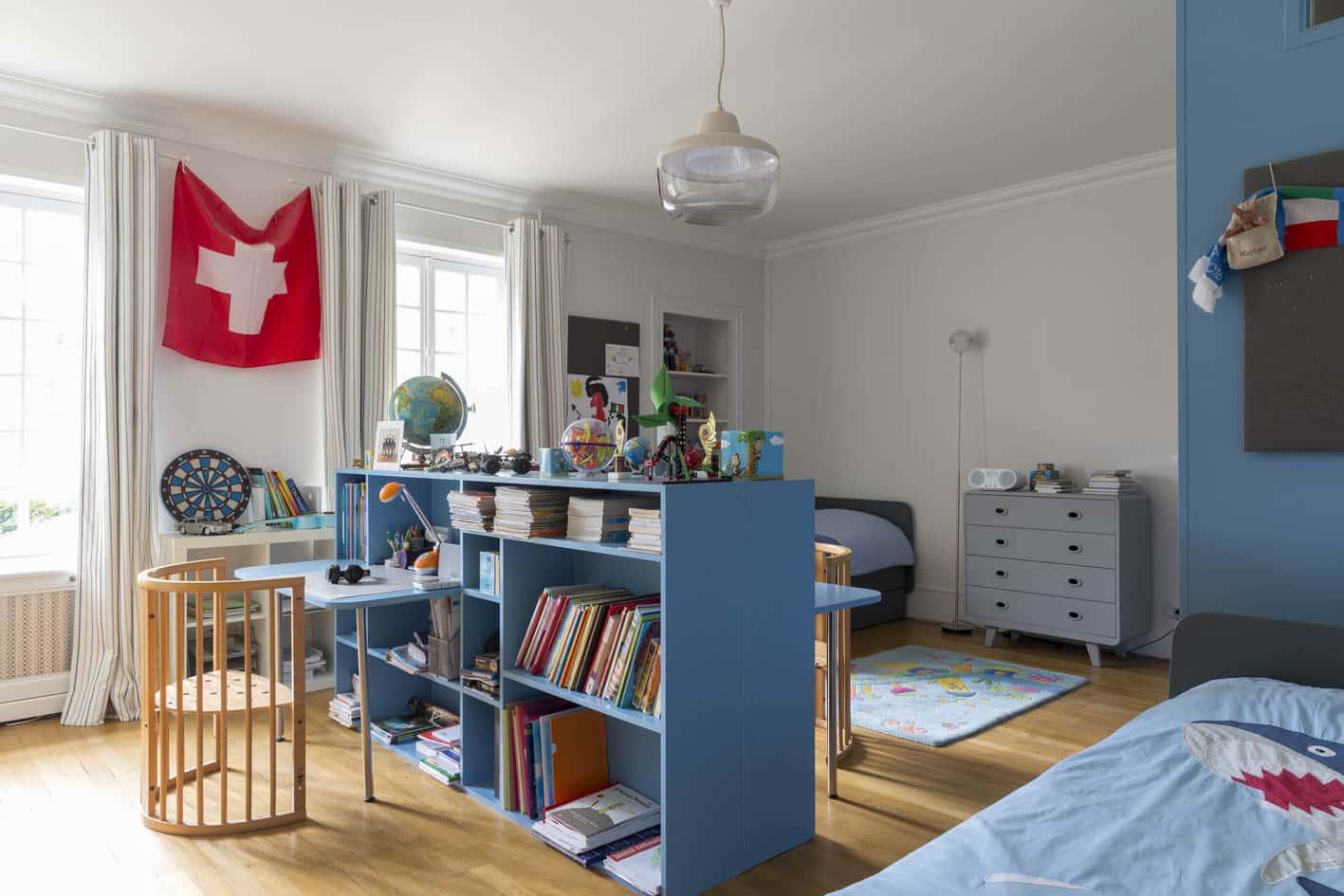 relooking chambre enfants - paris demeure 18eme