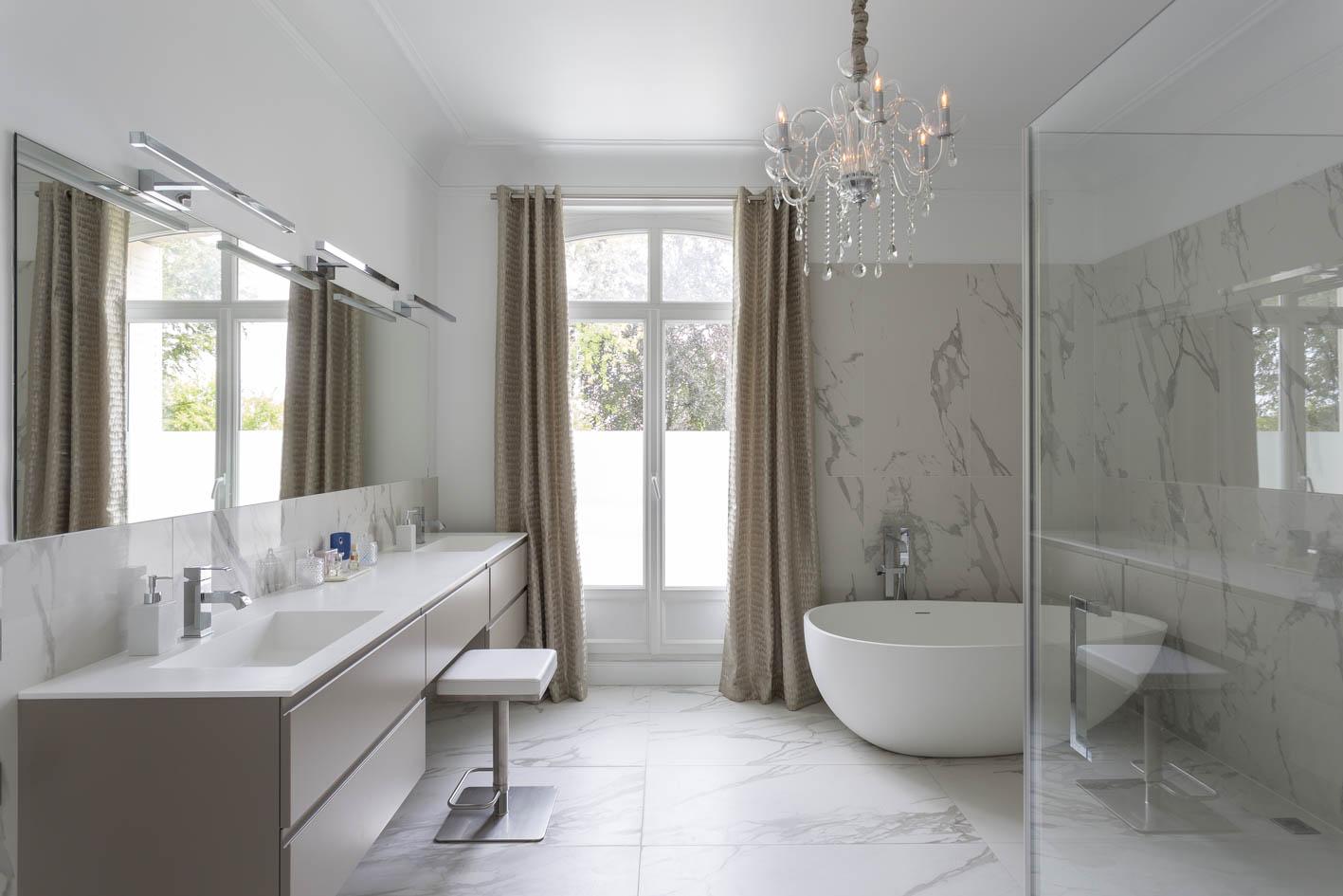 Salle de bains - Villa Paris Déco