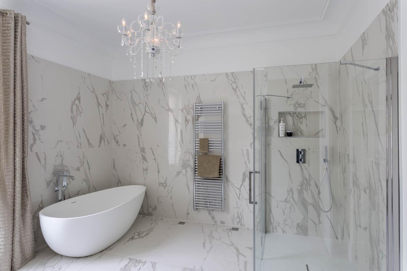 Décoration salle de bains - Villa yvelines