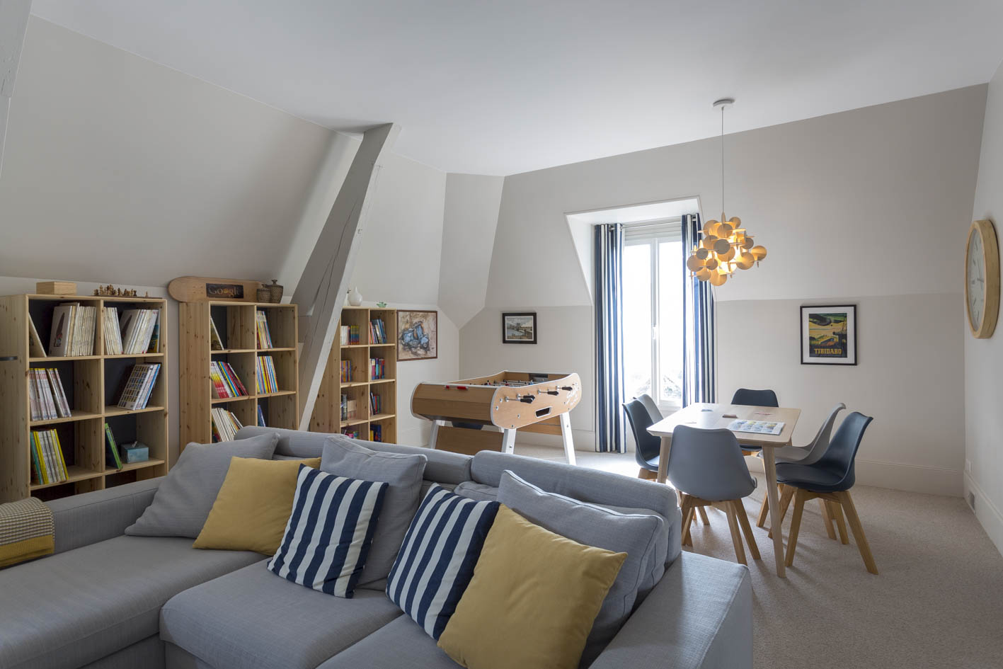 Décoration intérieure - Salon villa paris
