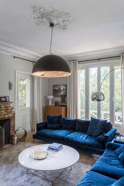 Makeover of classic french villa from 1900