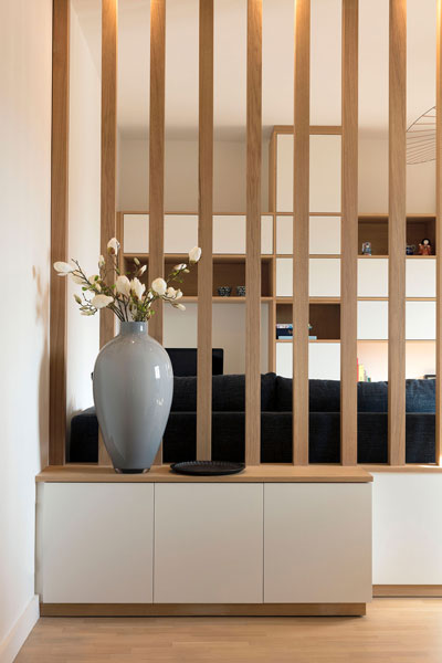 Flat with japanese and scandinavian design