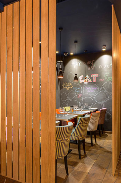 Architecte design restaurant Paris