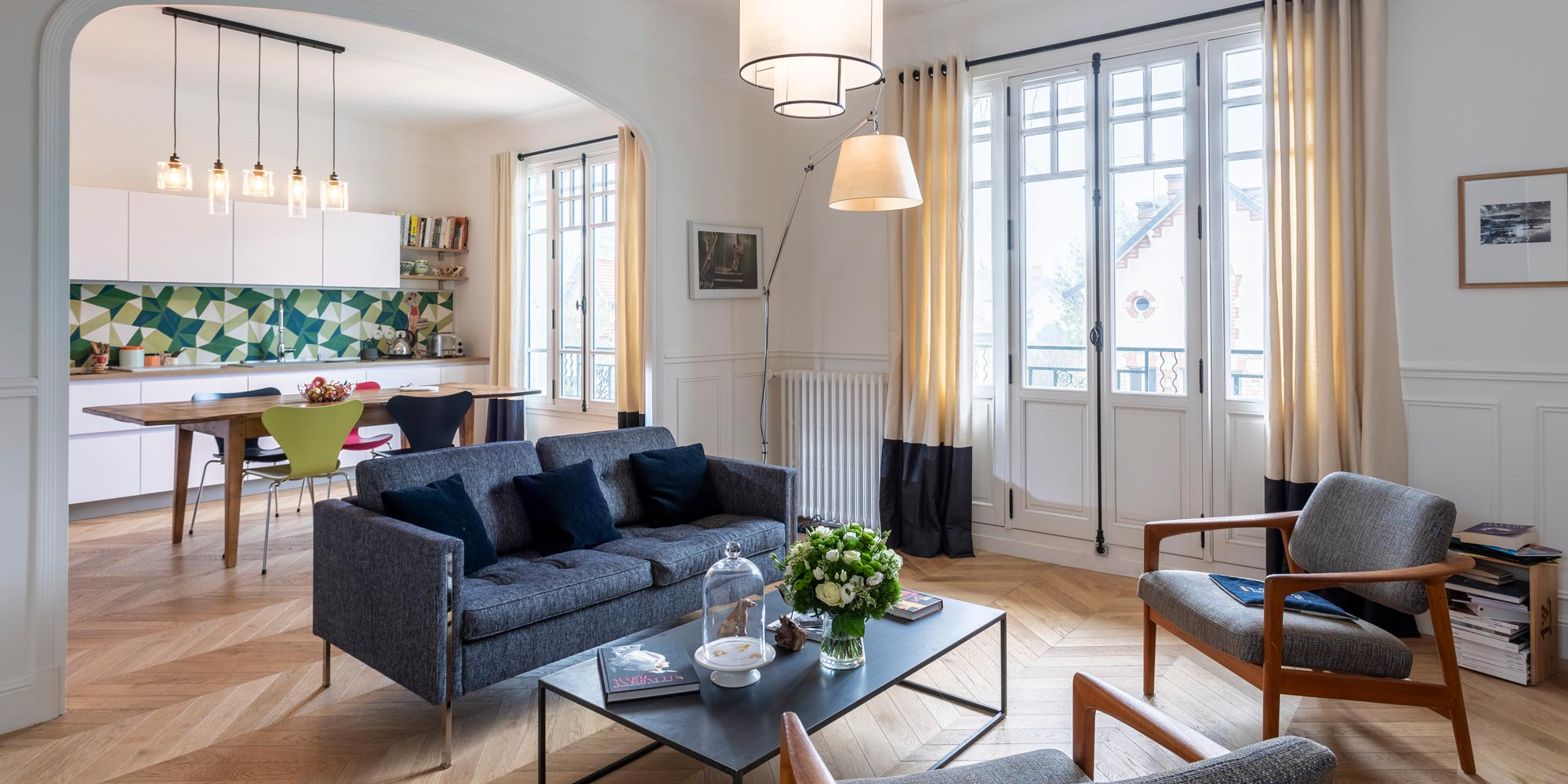 Appartement vintage Saint Germain en Laye